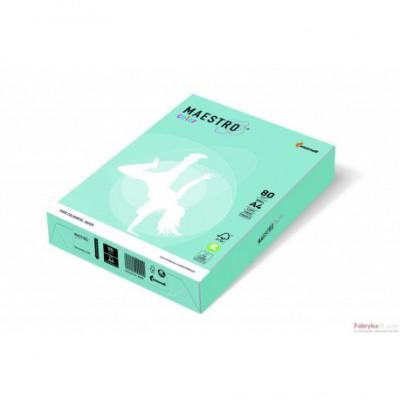 Papier xero MAESTRO COLOR A4 80 MB30 niebieski