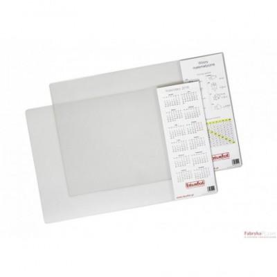 Podkład na biurko z kieszenią przezroczysty 38 x 58 BIURFOL