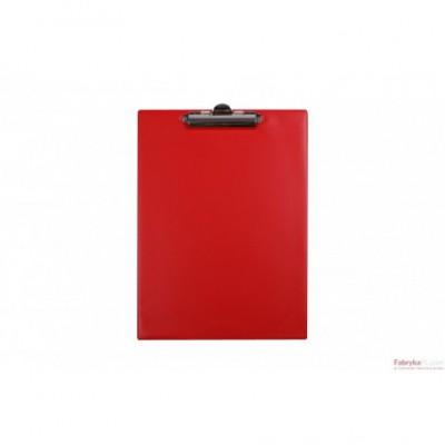 Deska klip A5 czerwona Biurfol