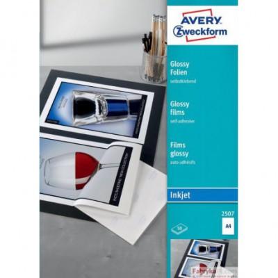 samoprzylepna Avery Zweckform (50) A4 biała z połyskiem