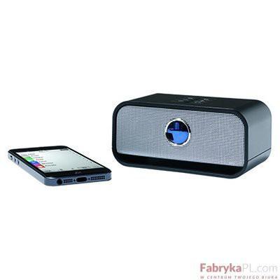 Przenośny głośnik stereo Bluetooth, LEITZ Complete, czarny
