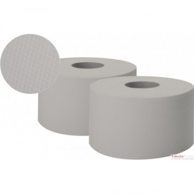 Papier toal.JUMBO-ROLL szary ESTETIC 1-warst