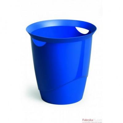 Kosz na śmieci DURABLE TRENDY 16l niebieski