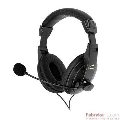 Słuchawki z mikrofonem TRACER RETO TRS-750M (750 MV) Mini-jack Czarny