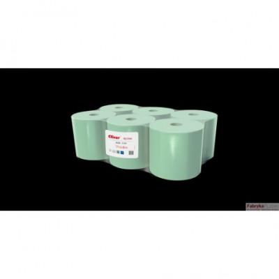 Ręcznik Cliver 130/1 makulatura zielony (op 6szt)