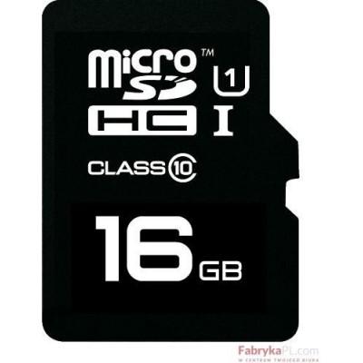 Karta pamięci EMTEC MicroSDHC z adapterem SD 16GB Class10 TelCo