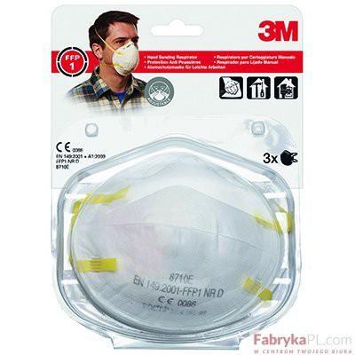 Półmaska filtrująca, ręczne szlifowanie 3M