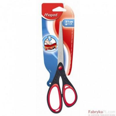 Nożyczki Start Soft 21 cm Asymetryczne Blister