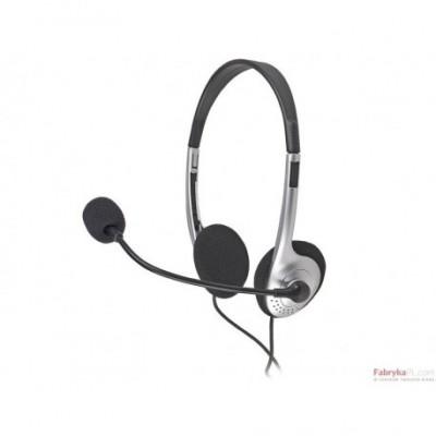 Słuchawki z mikrofonem TRACER TRS-SL 100MV Mini-jack Czarny
