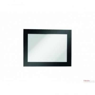 Ramki MAGAFRAME A6 czarne (2 sztuki) DURABLE
