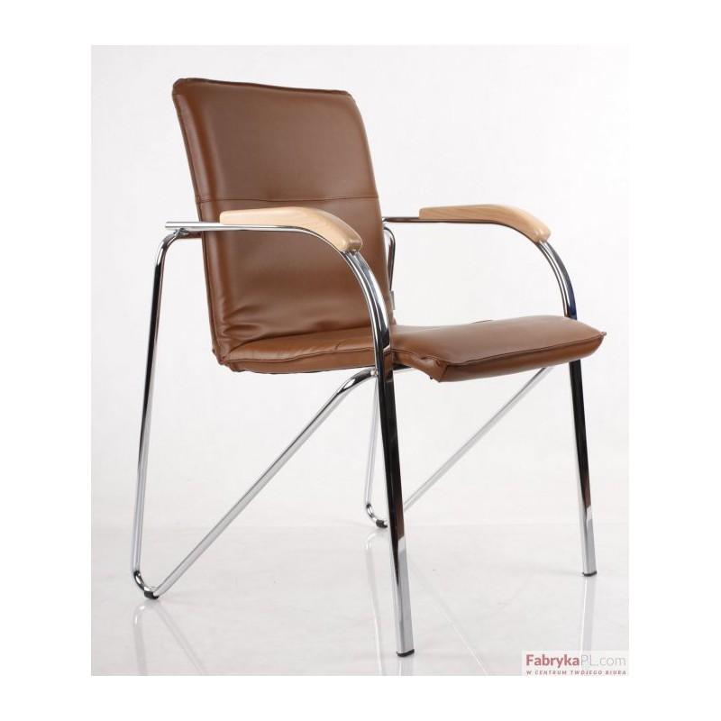 Krzesło Samba Chrome V49 Brąz Drewno Buk 1007 Nowy Styl Fabrykapl Beata Ignatowska