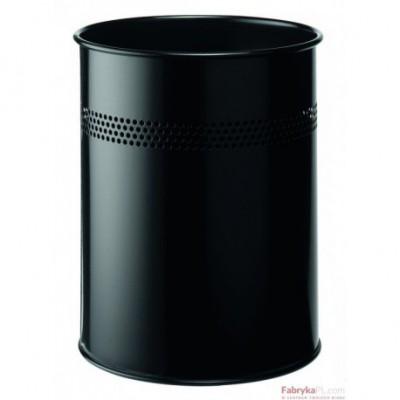 kosz na smieci TWINCO metalowy czarny z perforacją /a2900-0159/