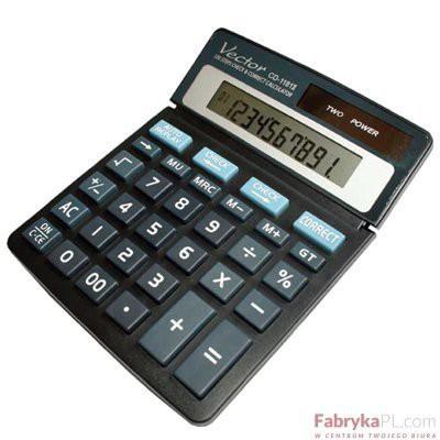 Kalkulator VECTOR CD1181 10p .