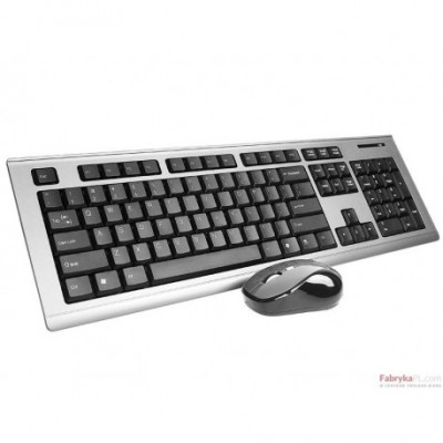 Zestaw klawiatura+mysz TRACER Booster TRK-666 RF bezprzewodowy USB