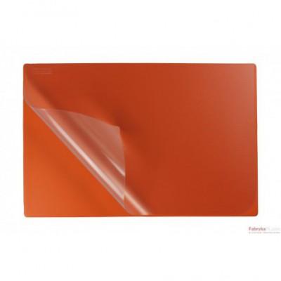 Podkład na biurko z folią 38x58 orange BIURFOL