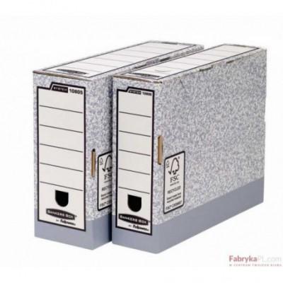 Pudło archiwizacyjne na akta FELLOWES R-KIVE 80mm
