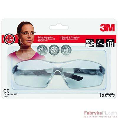Okulary ochronne Clear 3M