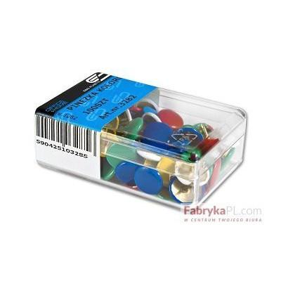 Pinezka kolorowa 100sztuk E&D PLASTIC