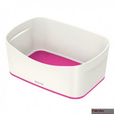 Pojemnik MyBOX bez pokrywki biało-różowy Leitz