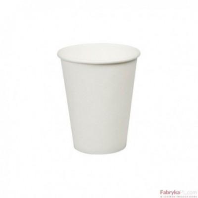 Kubek papierowy biały 300ml.(50) COFFEE 4 YOU