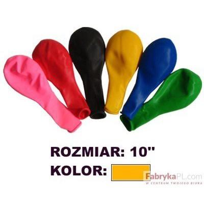 """Balon GRAND 10"""" pastel pomarańczowy 100szt"""
