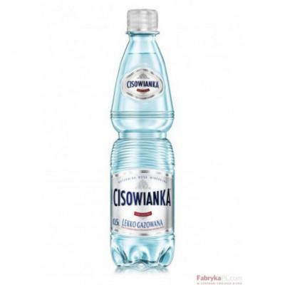 Woda CISOWIANKA 0,5l lekko gazowana