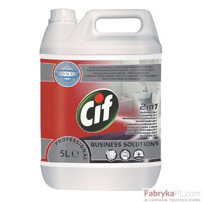 Środek czyszczący Cif Professional Washroom 2in1 5L