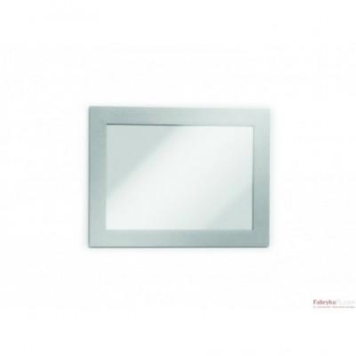 Ramki MAGAFRAME A6 srebrne (2 sztuki) DURABLE
