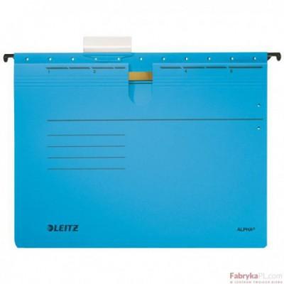 Skoroszyty zawieszane ALPHA, niebieski Leitz