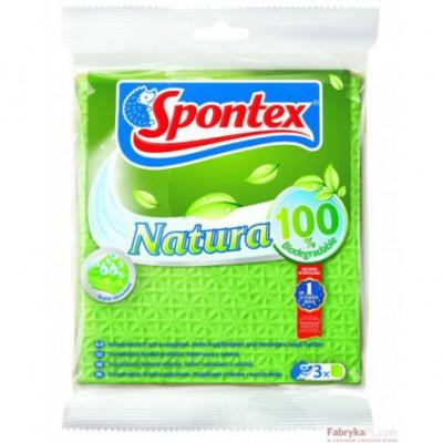 Natura Biodegradowalna Ściereczka gąbczasta 97842394 Spontex