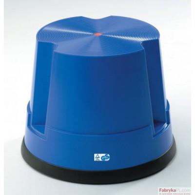 Taboret biurowy Twin Easy Step TWINCO niebieski