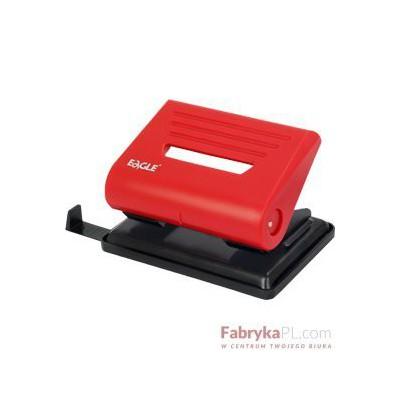 Dziurkacz EAGLE 837 czerwony 20 kartek