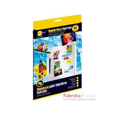 Papier foto Yellow One A4. magnetyczny błysz. 5 arkuszy (4PMG320)