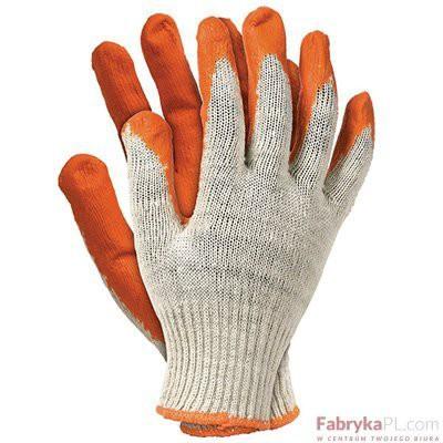 Rękawice Ochronne RU pomarańczowe Rozmiar 10 Reis