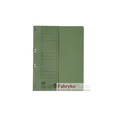 Skoroszyt kartonowy 1/2 A4 oczkowy zielony 100551879 ELBA