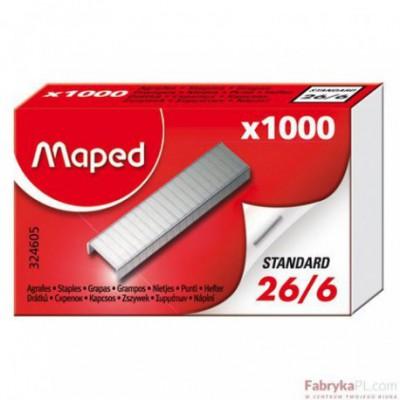 Zszywki Maped 26/6 1000 Szt Pudełko