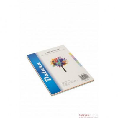 Papier xero kolorowy DATURA A4 160g (50) mix pastelowy