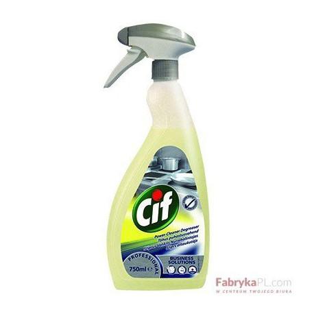 Preparat CIF Power Cleaner Degreaser 0,75l-skoncentrowany preparat do usuwania zabrudzeń tłuszczowych i innych