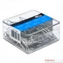 Spinacz metal 32 mm (70) 6047 E&D PLASTIC plastikowe pudełko