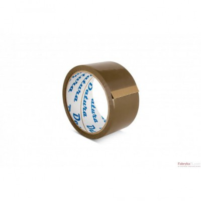 Taśma pakowa DATURA 48x50y akrylowa brązowa