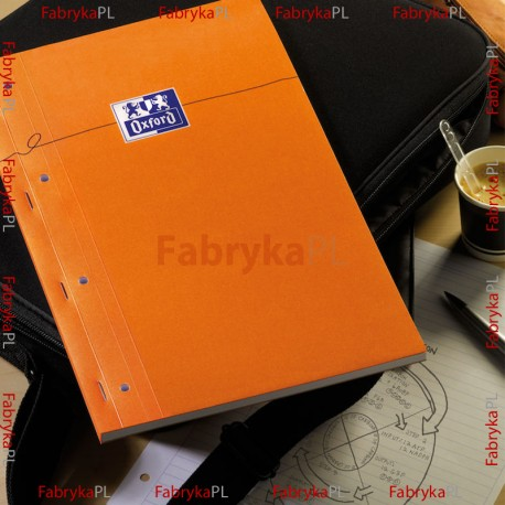 Notatnik A4+ 80 kartek, kratka DB OXFORD EVERYDAY