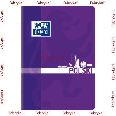 Zeszyt przedmiotowy do Języka Polskiego OXFORD A5 60 karte