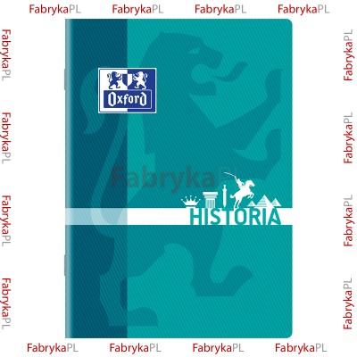 Zeszyt przedmiotowy do Historii OXFORD A5 60 kartek
