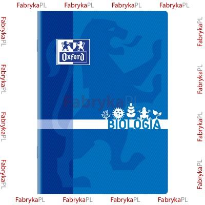 Zeszyt przedmiotowy do Biologii OXFORD A5 60 kartek