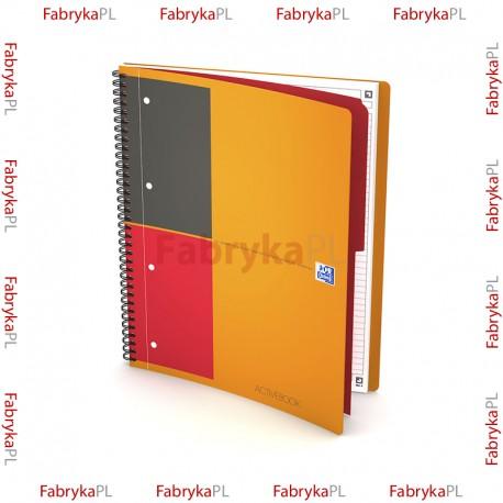 Kołozeszyt A4+ OXFORD INTERNATIONAL Activebook 80 kartek linia
