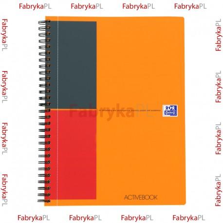 Kołozeszyt B5 OXFORD INTERNATIONAL Activebook 80 kartek linia