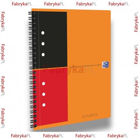 Kołozeszyt A5+ OXFORD INTERNATIONAL Activebook 80 kartek linia