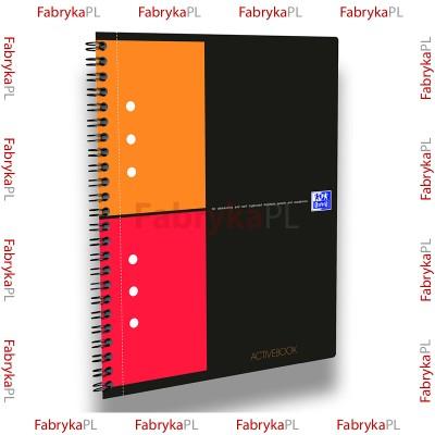 Kołozeszyt A5+ OXFORD INTERNATIONAL Activebook 80 kartek kratka