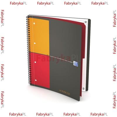 Kołozeszyt A4+ OXFORD INTERNATIONAL Activebook 80 kartek kratka