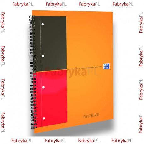 Kołobrulion A4+ OXFORD INTERNATIONAL Filingbook 100 kartek linia